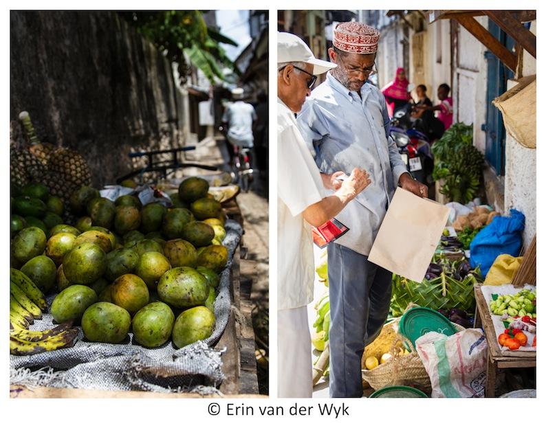 Zanzibar Vegie Stalls