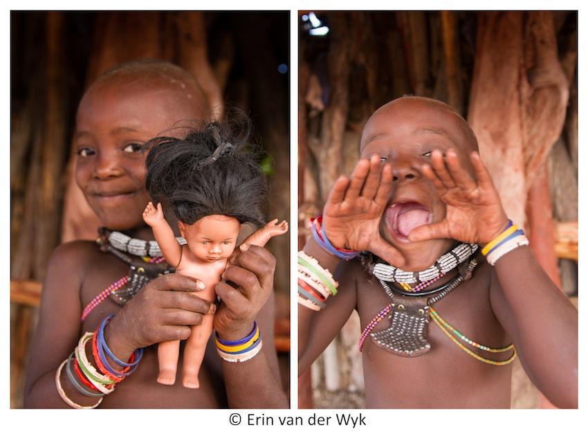 Himba Child Fun